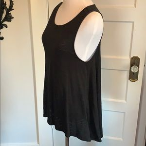 Michael Kors basic black tank top